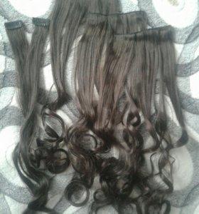 Волосы .
