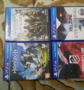 Игры на SONY PS4