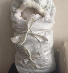 Конверт на выписку / тёплое одеяло