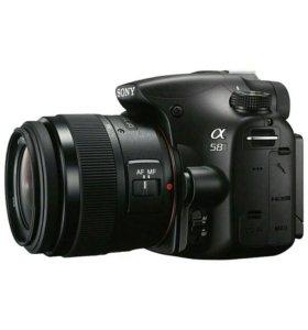 Зеркальный фотоаппарат Sony Alpha SLT-A58