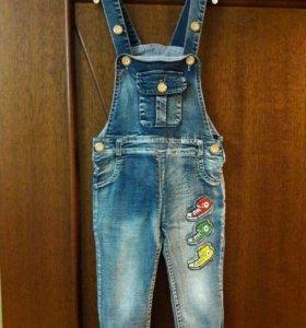 Комбинезон детский джинсовый