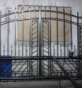 Сварочные работы,ворота,и многое другое...