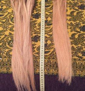 Волосы для наращивания бу блонд
