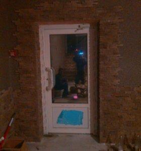 Монтаж металлических входных дверей