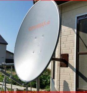 Установка сутниковых антен