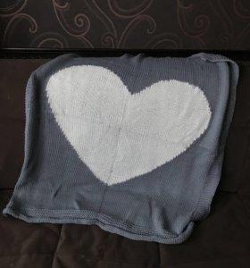 Одеяло с сердечком