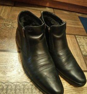 Продам зимние туфли ( полусапоги)