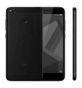 Новый Xiaomi Redmi 4X 2/16Gb Black
