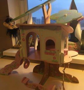 Игровой домик из дерева ELC