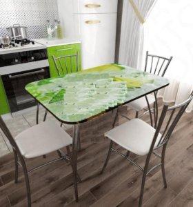 Столы кухонные фотопечать