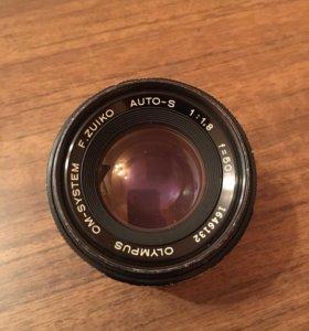 объектив Olympus 50mm f1,8