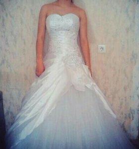 Свадебное платье. После химчистки