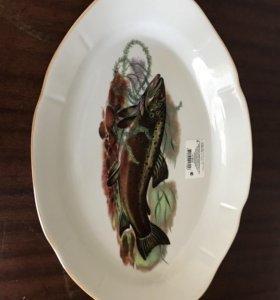 Блюдо для рыбы новое