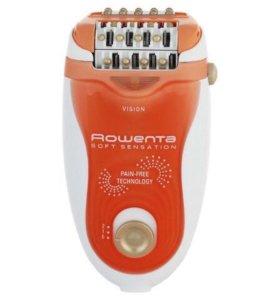 Новый эпилятор Rowenta Soft Sensation