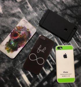 Чехлы на айфон 5s, SE