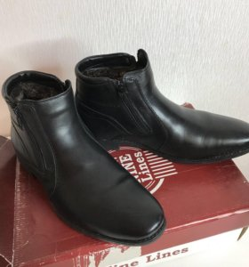 Мужские ботинки зима новые