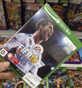 FIFA 18 Xbox one (новая)