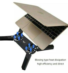 Новая подставка охлаждающая кулер для ноутбука
