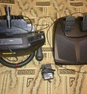 Продам Игровой манипулятор (Руль + педали)