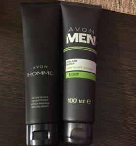 Бальзам после бритья и гель для бритья для мужчин