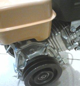 Шкив с центробежным сцеплением на виброплиту