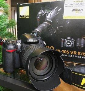 Nikon D7000 + kit 18-105mm