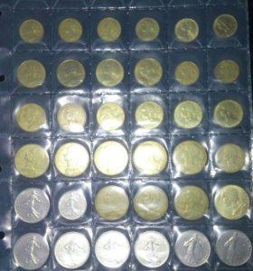 Монеты франция.
