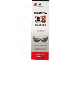 Новые 3D очки LG AG-F310 черный