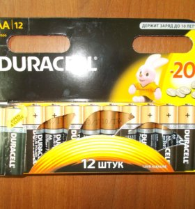 Батарейки алкалиновые AAA и AA. Новые!