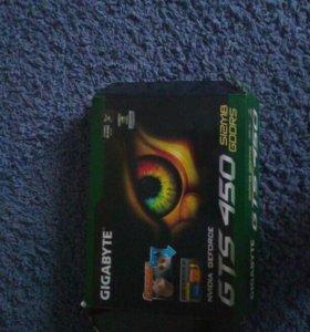 Видиокарта gigabyte gv-n450-1gi gv-n450-512i