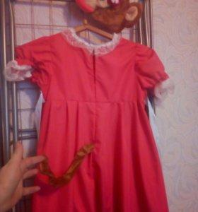 Платье-костюм обезьянки