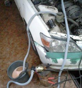 Промывка радиаторов отопления автомобилей