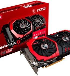 Видеокарта MSI rx 570 gaming x 4 gb