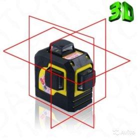 Лазерный нивелир Firecore 3D Fukuda, новый