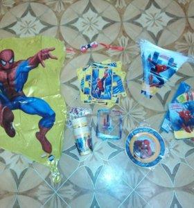 Для праздника день рождения человек паук