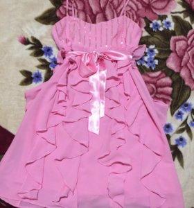 Платье вечернее можно для беременных примерно 48р
