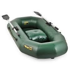 Лодка надувная Чирок 180, натяжное дно, зеленая