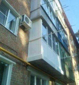 Балкон остекленный, панорамный