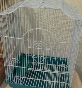 Клетки для попугая и птички