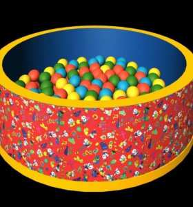 Сухой бассейн с шарами б/у