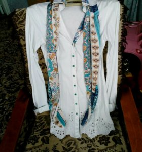 Блуза удлиненная новая