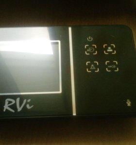 Видеодомофон rvi-vd1 mini и вызывная панель major
