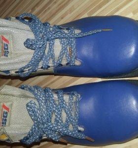 Ботинки лыжные мужские 44 р