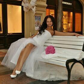 Свадебное платье + болеро и фата