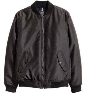 Новая Утеплённая куртка бомбер  H&M divided
