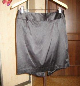 Юбка VisAVis черная с больщим бантом сзади