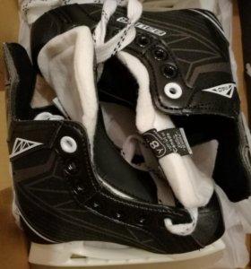 Коньки хоккейные, новые Bauer