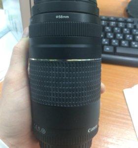 Объектив Canon EF 75-300mm f/4-5.6 lll