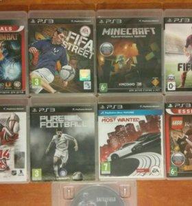 Диски игровые лицензионные PS3 Playstation 3
