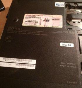 Ноутбук sony vaio pcg-6q20 на запчасти